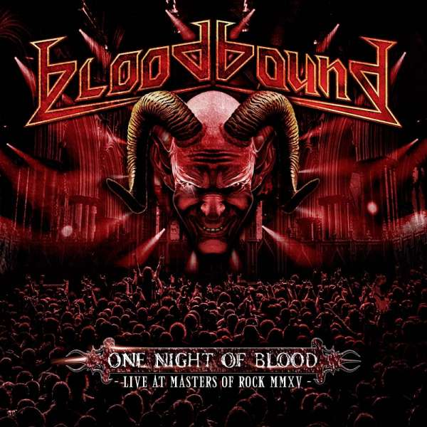 Bloodbound - One Night Of Blood - DVD/CD Digipak