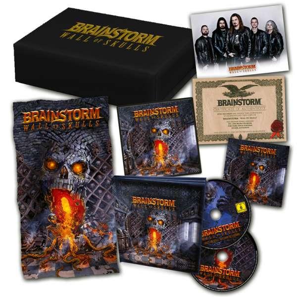 BRAINSTORM - Wall Of Skulls - Ltd. Boxset
