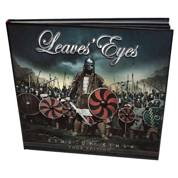 LEAVES' EYES - King Of Kings - Tour Edition - DVD/2CD Book