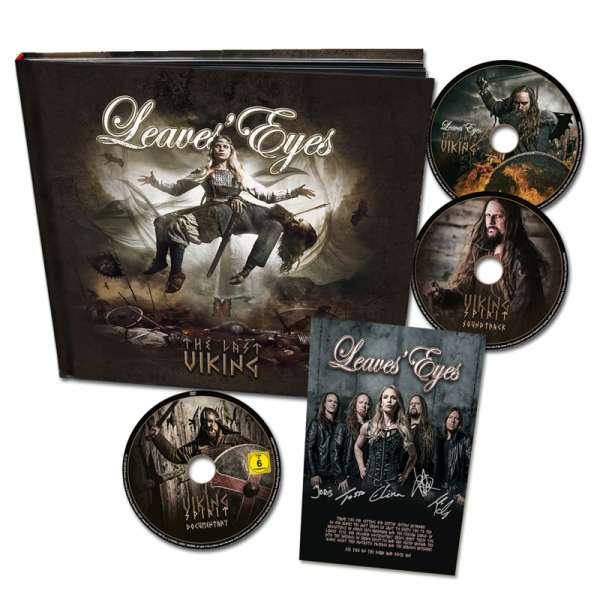 LEAVES' EYES - The Last Viking - Ltd. Hardcover-Artbook (2CD+DVD)