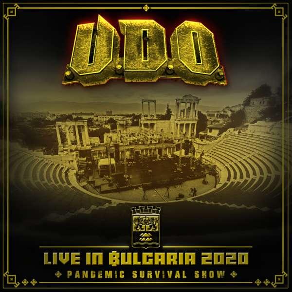 U.D.O. - Live in Bulgaria 2020 – Pandemic Survival Show - Blu-Ray/2-CD Digipak