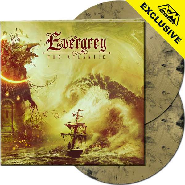 EVERGREY - The Atlantic - Ltd. Gatefold GOLD/BLACK MARBLED 2-Vinyl - Shop Exclusive !