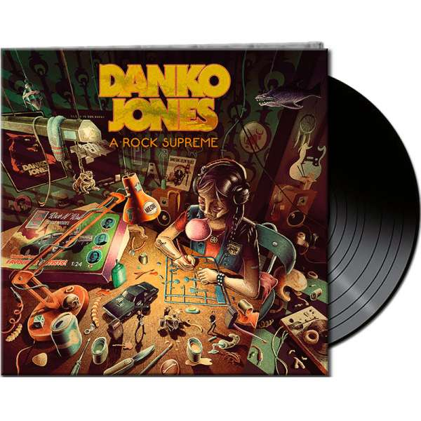 DANKO JONES - A Rock Supreme - Ltd. Gatefold BLACK LP