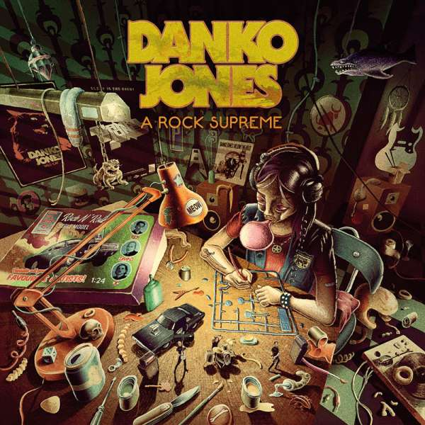 DANKO JONES - A Rock Supreme - Digipak CD