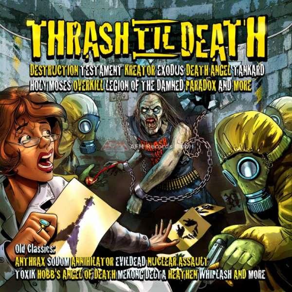 VARIOUS ARTISTS - Thrash 'Til Death