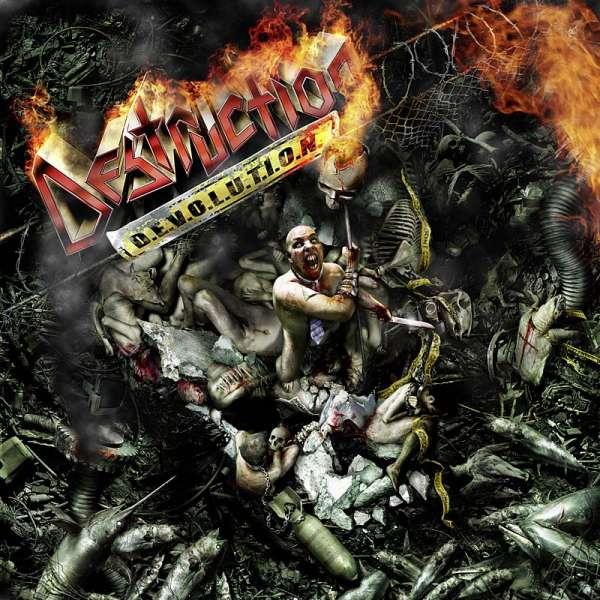 DESTRUCTION - D.E.V.O.L.U.T.I.O.N. - CD