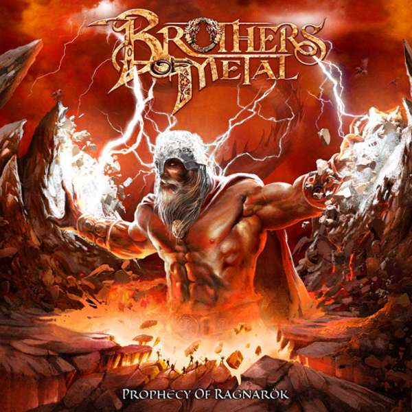 BROTHERS OF METAL - Prophecy Of Ragnarök - Ltd. Digipak CD