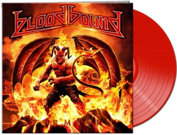BLOODBOUND - Stormborn (Ltd.Gatefold/Red Vinyl/180 Gramm)