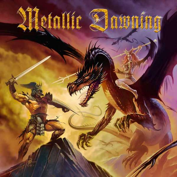 VARIOUS ARTISTS - Metallic Dawning