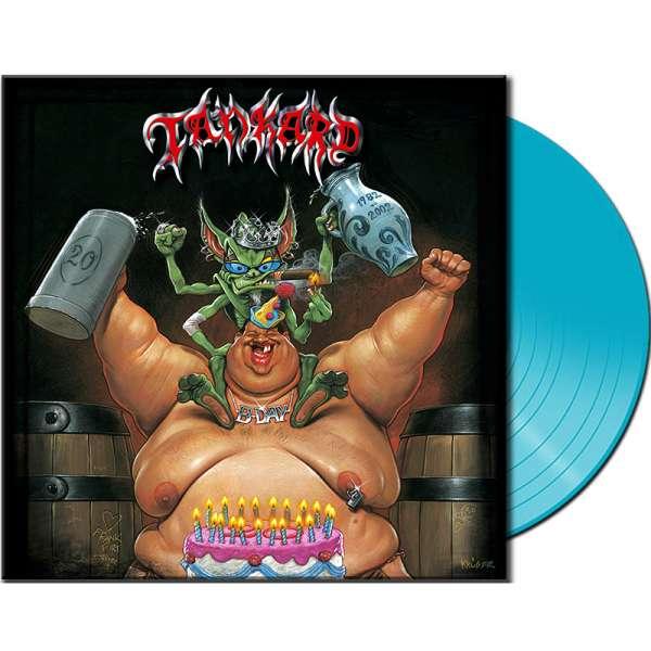 TANKARD - B-Day - Ltd. CLEAR BLUE Vinyl