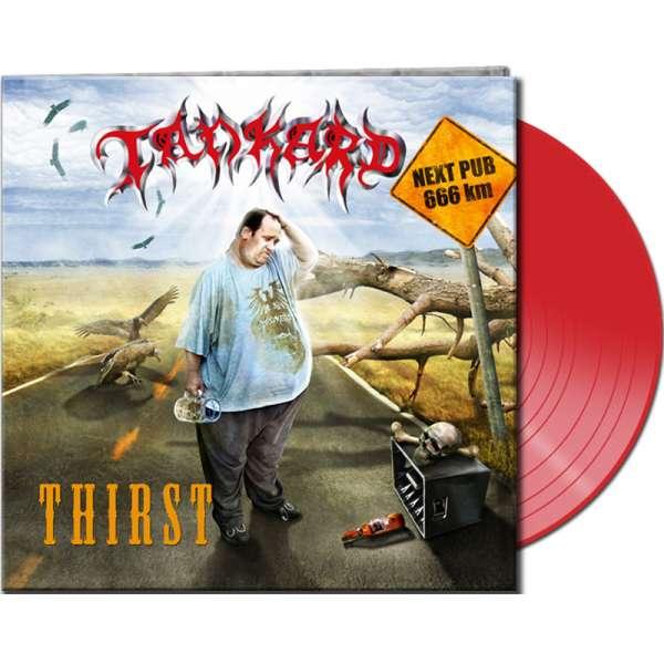 TANKARD - Thirst - Ltd. Clear Red Vinyl