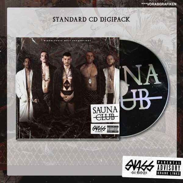 SWISS & DIE ANDERN - Saunaclub - Digipak-CD