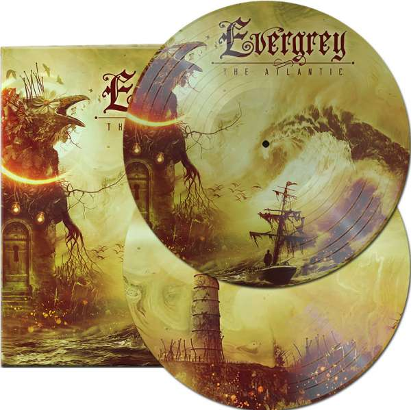 EVERGREY - The Atlantic - Ltd. Gatefold Picture 2-Vinyl