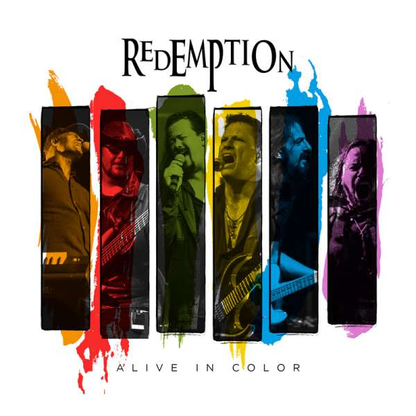 REDEMPTION - Alive In Color - Digipak DVD/2-CD