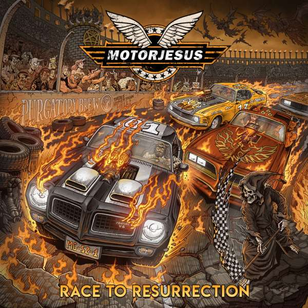 MOTORJESUS - Race To Resurrection - Digipak CD