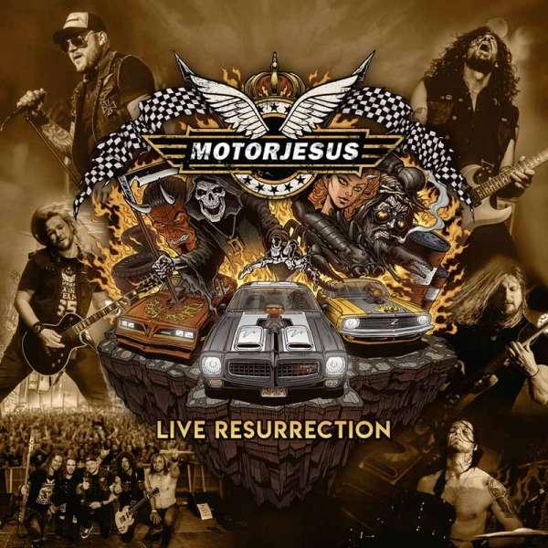 MOTORJESUS - Live Resurrection - CD (Jewelcase)