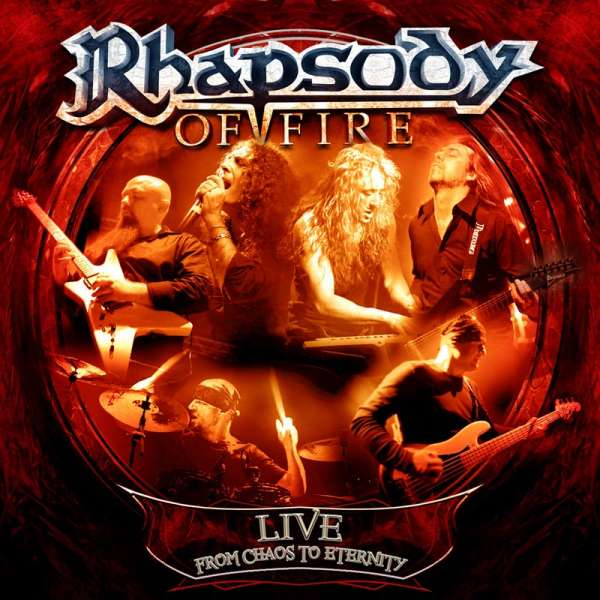 RHAPSODY OF FIRE - Live - From Chaos To Eternity (Digipak)