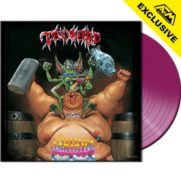 TANKARD - B-Day - Ltd. PURPLE Vinyl - Shop Exclusive !