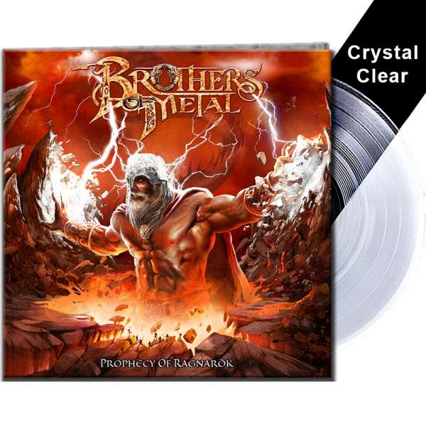 BROTHERS OF METAL - Prophecy Of Ragnarök - Ltd. Gatefold CRYSTAL CLEAR Vinyl