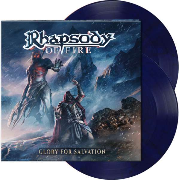 RHAPSODY OF FIRE – Glory For Salvation - Ltd. Gatefold MIDNIGHT BLUE 2-LP