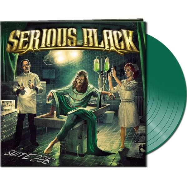 SERIOUS BLACK - Suite 226 - Ltd. Gatefold CLEAR GREEN Vinyl