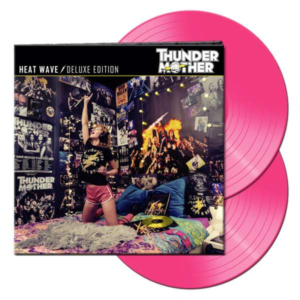 THUNDERMOTHER - Heat Wave (Deluxe Edition) - Ltd. Gatefold PINK 2-LP