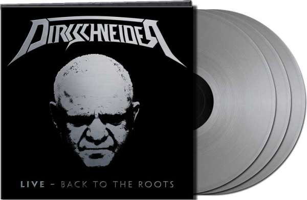 "Dirkschneider - ""LIVE – Back To The Roots"" - Ltd. Gtf. Silver 3-Vinyl"