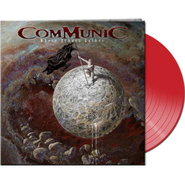 COMMUNIC - Where Echoes Gather - Ltd. Gtf. Red Vinyl