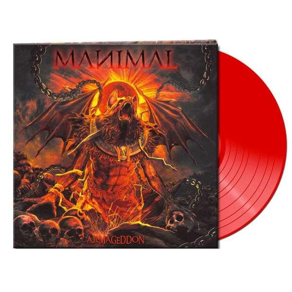 MANIMAL - Armageddon - Ltd. Gatefold RED LP