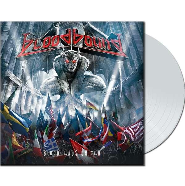 "BLOODBOUND - Bloodheads United - Ltd. White 10"" Vinyl (Mini-LP)"