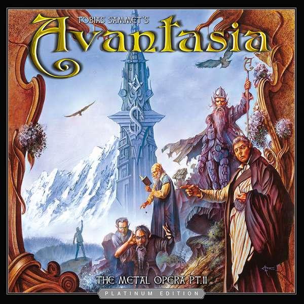 AVANTASIA - The Metal Opera Pt. II (Platinum Edition) - Ltd. Digipak