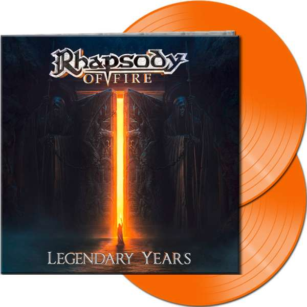 RHAPSODY OF FIRE - Legendary Years - Ltd. Gtf. Orange 2-Vinyl