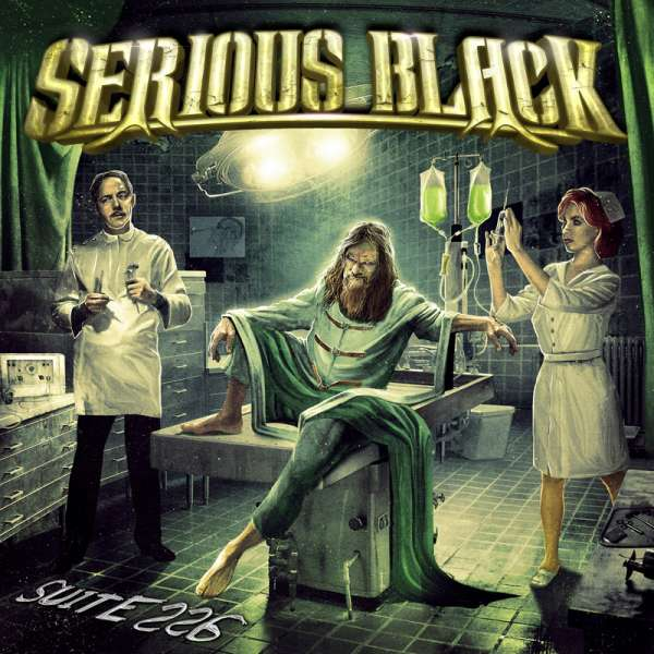 SERIOUS BLACK - Suite 226 - Digipak CD