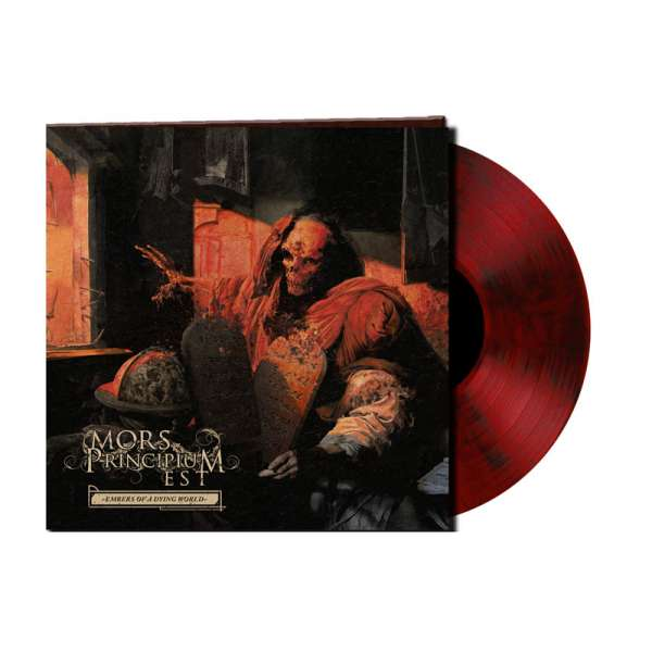 MORS PRINCIPIUM EST - Embers Of A Dying World - Ltd. Gtf. Red-Black-Marbled Vinyl