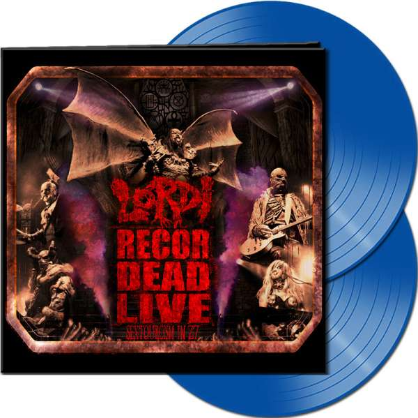 LORDI - Recordead Live - Sextourcism In Z7 - Ltd. Gatefold BLUE 2-LP