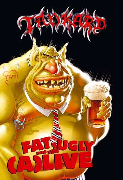 TANKARD - Fat, Ugly And Still (A)Live (DVD)