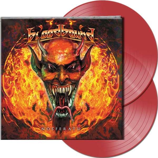 BLOODBOUND - Nosferatu - Ltd. Gtf. CLEAR RED 2-Vinyl