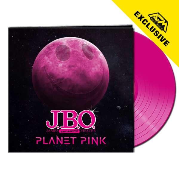 J.B.O. - Planet Pink - Ltd. Gatefold PINK LP - Shop Exclusive!