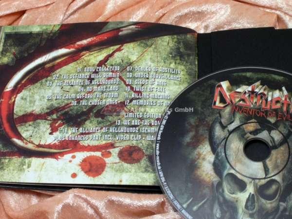 DESTRUCTION - Inventor Of Evil (Ltd. Digibook)
