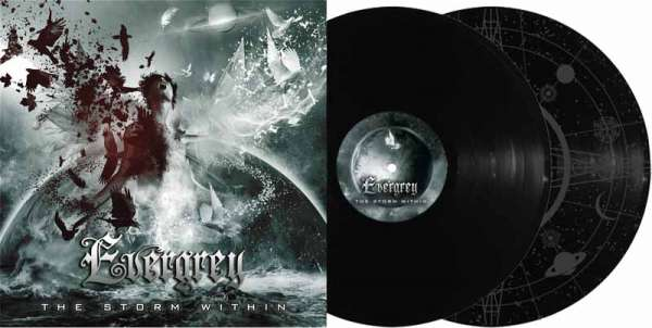 Evergrey - The Storm Within - Ltd. Gtf. Black 2-Vinyl
