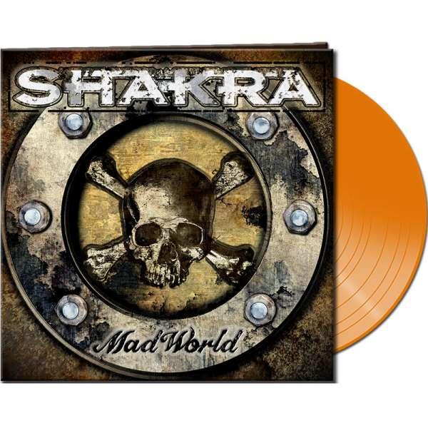 SHAKRA - Mad World - Ltd. Gatefold CLEAR ORANGE Vinyl