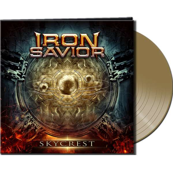 IRON SAVIOR - Skycrest - Ltd. Gatefold GOLD Vinyl