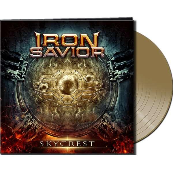 IRON SAVIOR - Skycrest - Ltd. Gatefold GOLD Vinyl