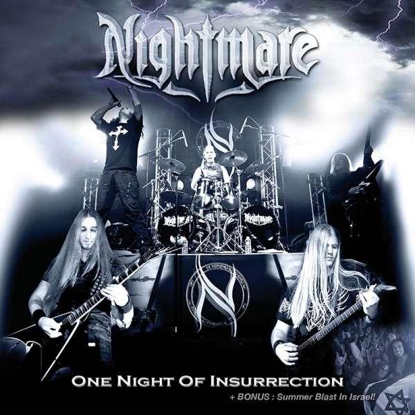 NIGHTMARE - One Night Of Insurrection (DVD/CD Set)