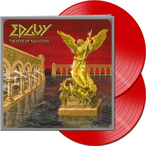 EDGUY - Theater Of Salvation (Anniversary Edition) - Ltd. Gatefold RED 2-LP