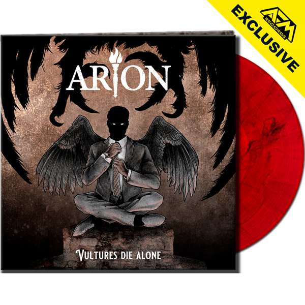 ARION - Vultures Die Alone - Ltd. Gatefold RED/BLACK MARBLED LP - Shop Exclusive!