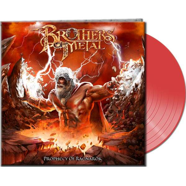 BROTHERS OF METAL - Prophecy Of Ragnarök - Ltd. Gatefold CLEAR RED Vinyl