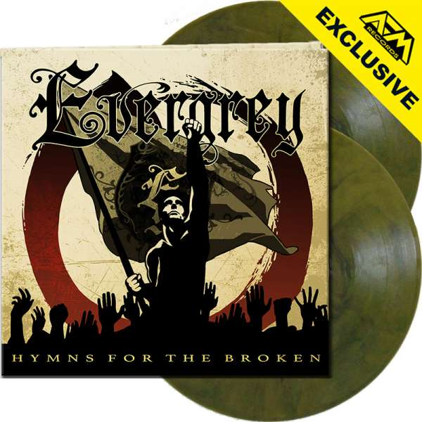 EVERGREY - Hymns For The Broken - Ltd. Gatefold YELLOW/BLACK MARBLED 2-LP - Shop Exclusive!