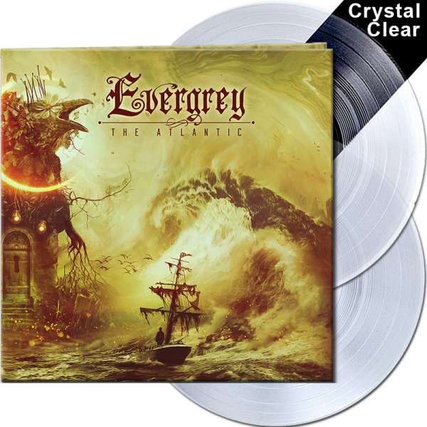 EVERGREY - The Atlantic - Ltd. Gatefold CRYSTAL CLEAR 2-Vinyl