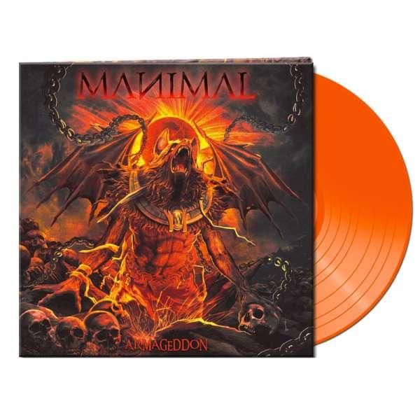 MANIMAL - Armageddon - Ltd. Gatefold ORANGE LP